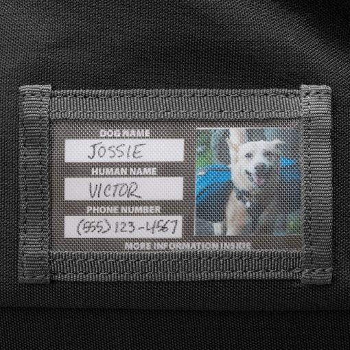 ID Tag of the Haul Bag dog gear bag.