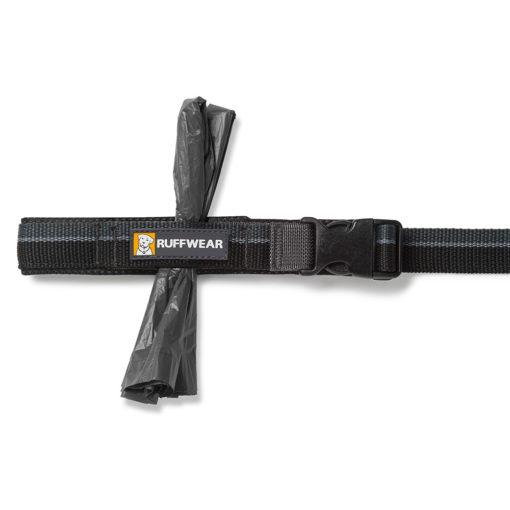 The Ruffwear Roamer Leash accessory loop in black.