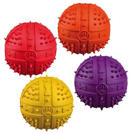 Dog Balls Rubber 9 cm 34842