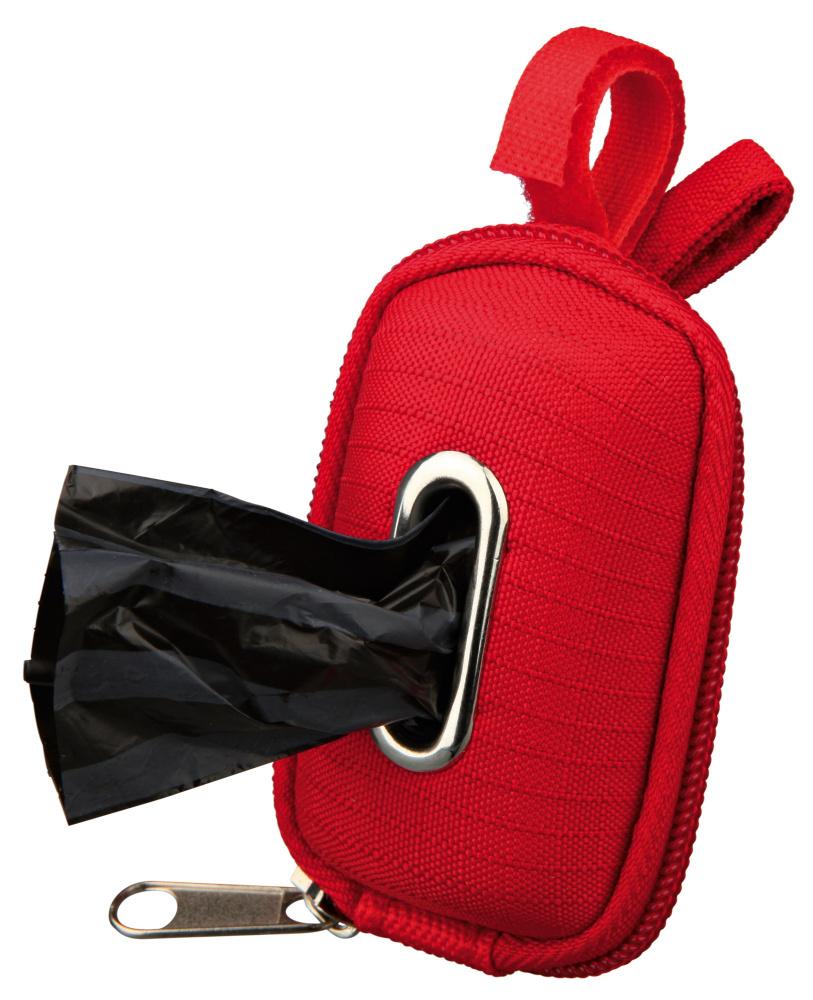Dog Dirt Bag Dispenser Red