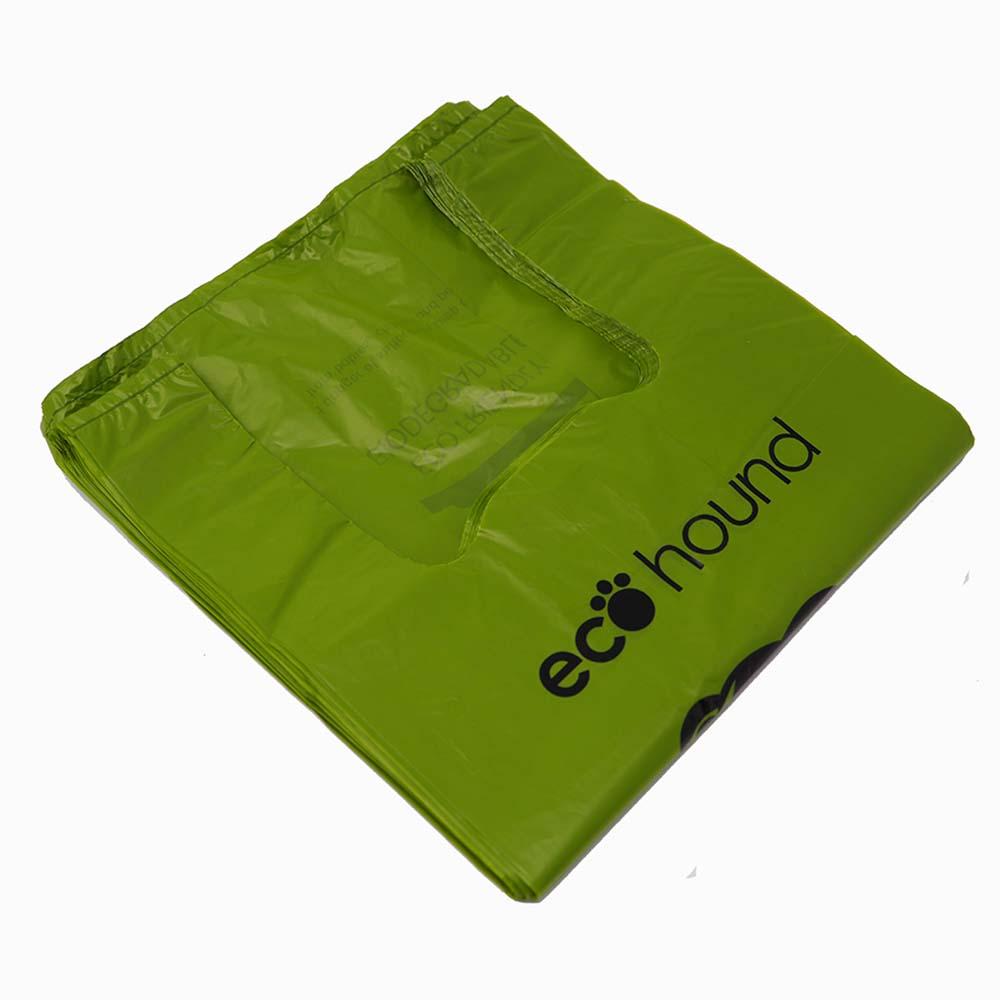 ecohound dog waste bag folded - Dog Waste Bags