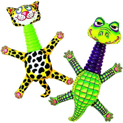 Fatcat Mini Rubber Necker Alligator Leopard