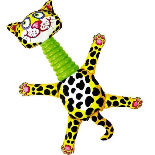 Mini Rubber Necker Leopard
