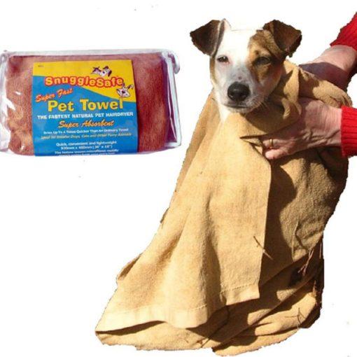 Snugglesafe small dog towel microfibre